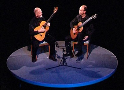 Guitar duo Olsson Sederholm on stage